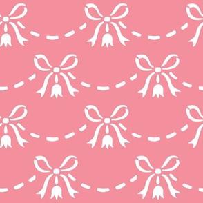 petal bows pink