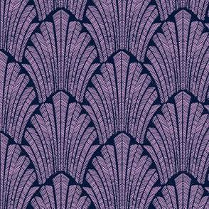 Art deco purple