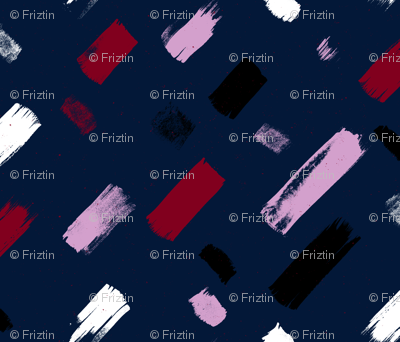 Dash Navy Orchid by Friztin