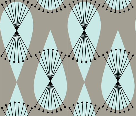ART DECO CHALLENGE fabric by sue_mattero_designs on Spoonflower - custom fabric