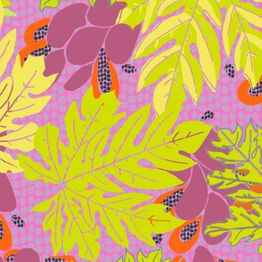 papayas [#6, pinks and brights]