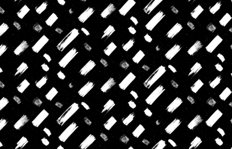 Dash Black by Friztin fabric by friztin on Spoonflower - custom fabric