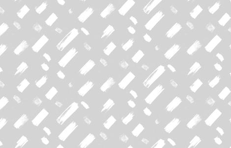 Dash Grey by Friztin fabric by friztin on Spoonflower - custom fabric