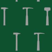 Rock Hammers - Green