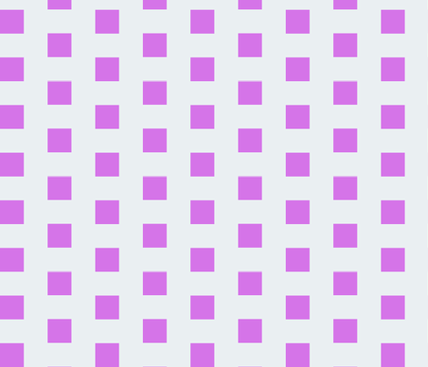 Mauveine Purple Squares on Silver fabric by little_smiles_studio on Spoonflower - custom fabric