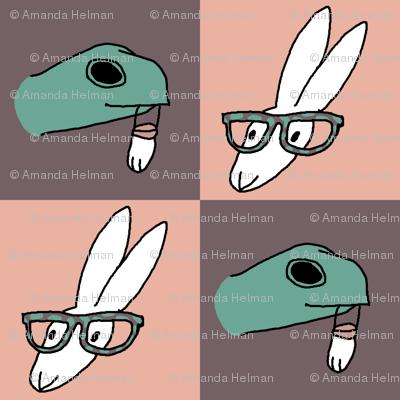 Tortoiseshell Glasses and Lucky Feet