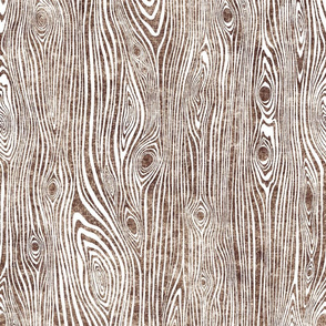 Woodgrain brown - driftwood - wooden