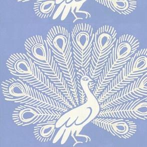 peacock (blue)