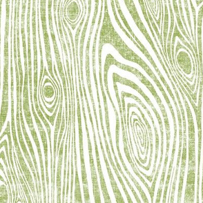 Woodgrain lime green - driftwood