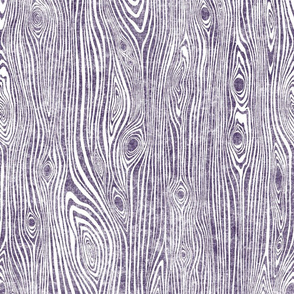 Woodgrain dark purple - driftwood violet