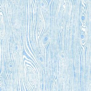 Woodgrain light blue - driftwood - lightblue