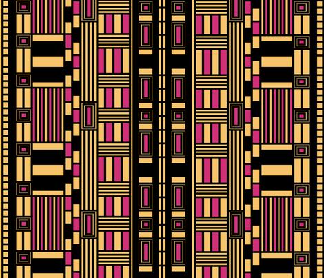 ART DECO NOUVEAU 4000 fabric by heckadoodledo on Spoonflower - custom fabric