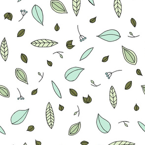 Leaves // by Sweet Melody Designs