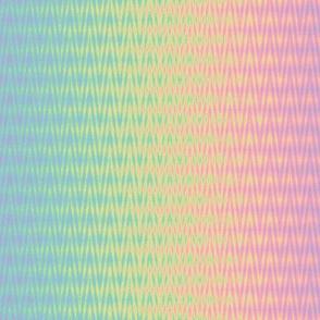 rainbow jitter - pastel