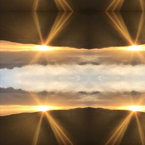 Sunrise beauty mountians