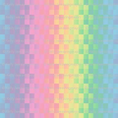 rainbow square stripe pastel