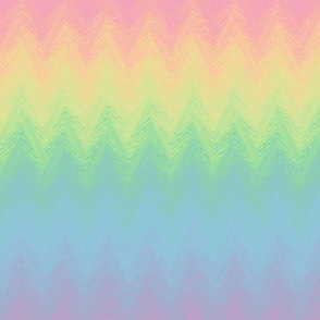 rainbow arrow stripe - pastel