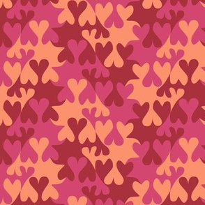 Tessellating Valentines Hearts
