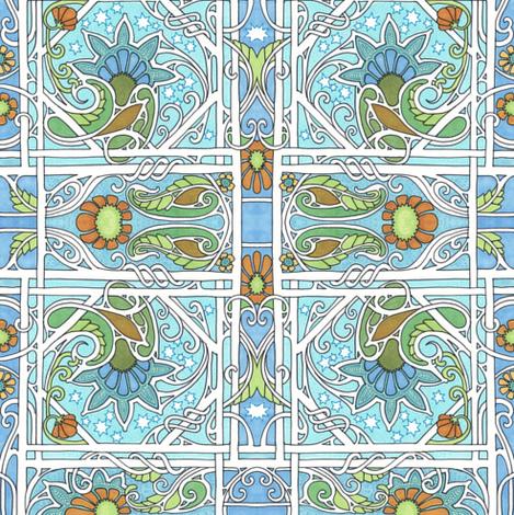 Morning Twilight Dawns fabric by edsel2084 on Spoonflower - custom fabric