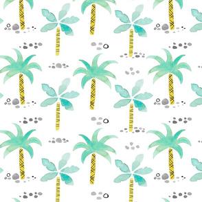 Watercolor Palmtrees