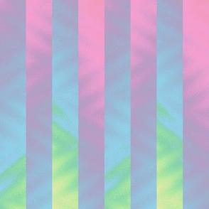 vertical rainbow stripe - pastel