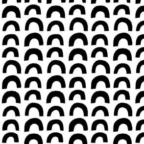 Monochrome Clip Clop White
