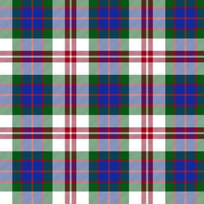 Fraser red dress tartan, 3""