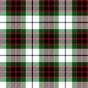 Fraser dress tartan, 3""