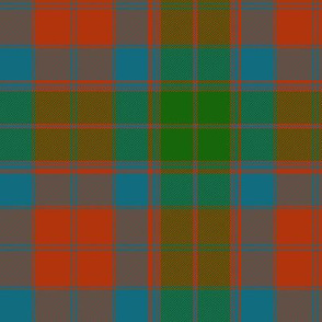 "Fraser of Altyre tartan, 6"" ancient"