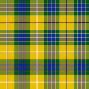 Fraser yellow trade tartan, 6""