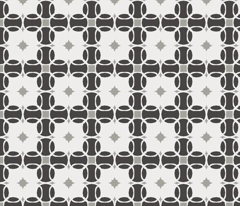Modern Farmhouse Geo fabric by ladyjulie on Spoonflower - custom fabric