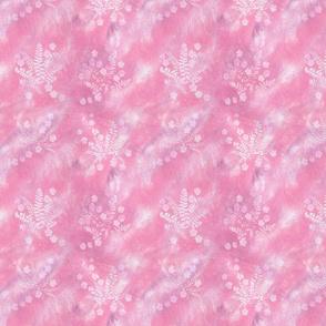 Pink Maidenhair Squares