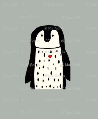 Penguin pillow plushy