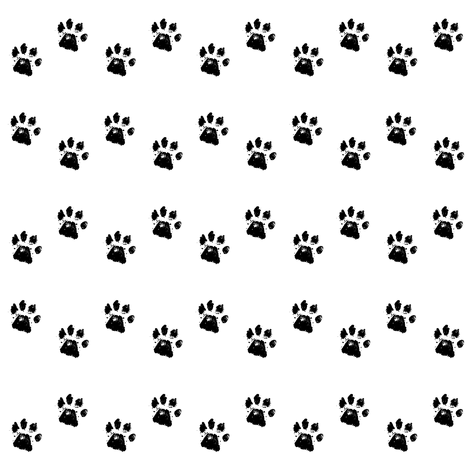Paws fabric by fabrique_dubois on Spoonflower - custom fabric