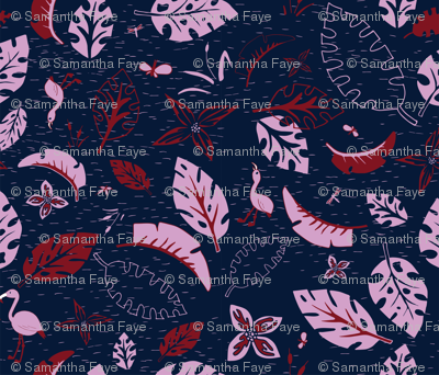 Orchid and Navy - Spoonflower_Feb 2018 - V2