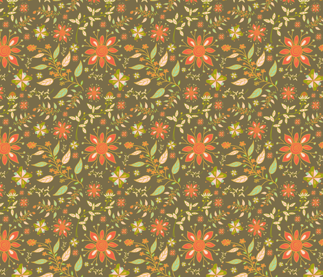 resquared-recolored-prairie-plains-calico-sf fabric by margiecampbellsamuels on Spoonflower - custom fabric