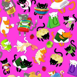 Japanese Food Cats 1