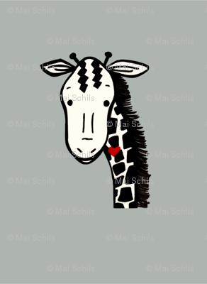 Giraffe plushy pillow