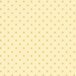 jungle polkadot yellow