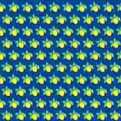 Little Lemon Lulu on blue-ch