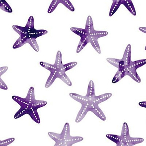 starfish - dark purple