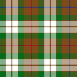 Fraser hunting dress tartan, 12""
