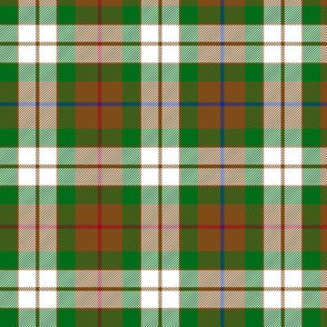 Fraser hunting dress tartan, 6""