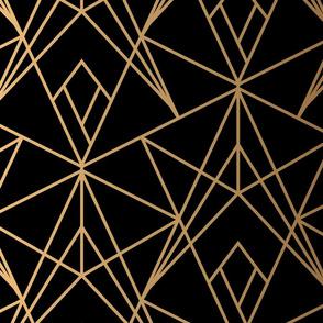 Gold Fragments - Black