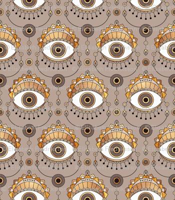 Gold Eyes - Large