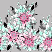 Rrrrrrrrrmint-and-pink-leaves-in-offset-for-roostery_shop_thumb