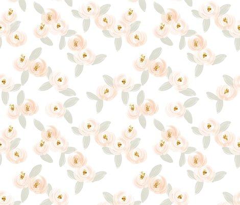 Rwatercolor-rose-wallpaper-gray-leaves_shop_preview
