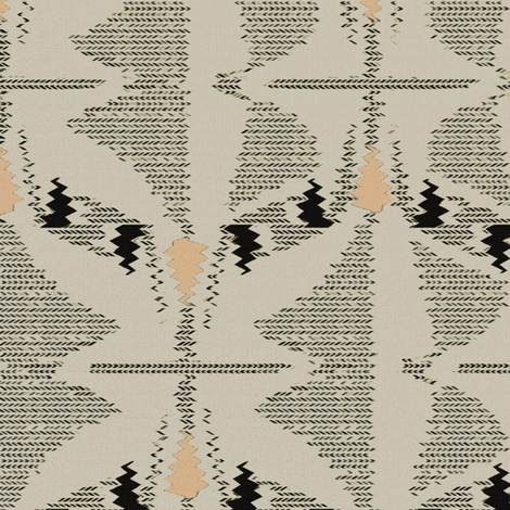 Sahara Wrap (Taupe) fabric by david_kent_collections on Spoonflower - custom fabric