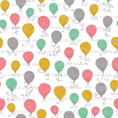 Balloon Mix Pink