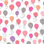 Balloons Pink